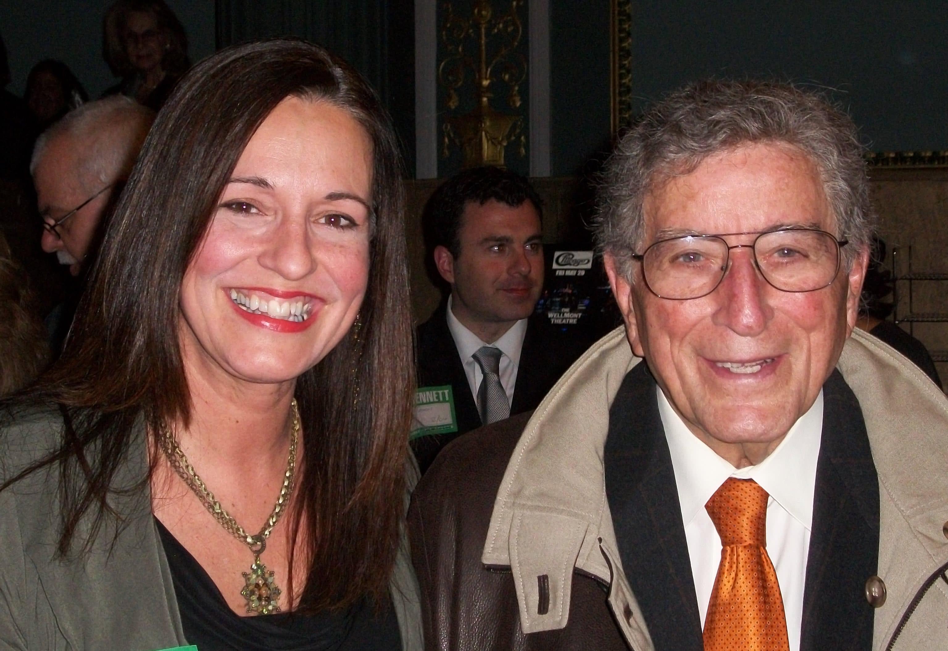 Debbie Major and Tony Bennett