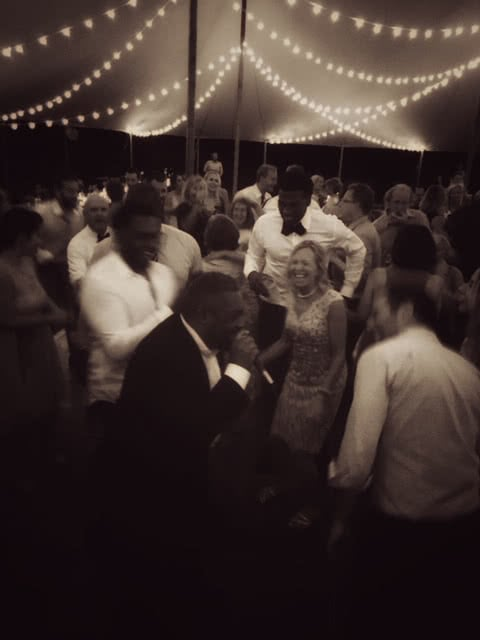 Jon Bates Wedding Croud