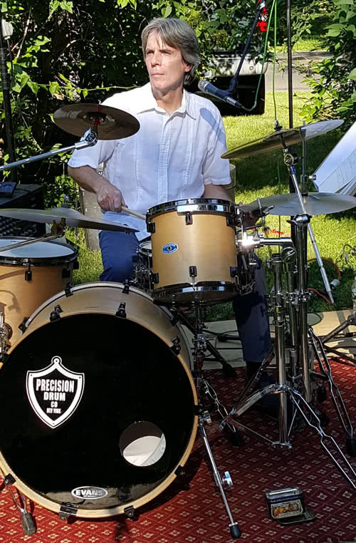 Precision Drum Co Endorsed Jon Bates at Drums