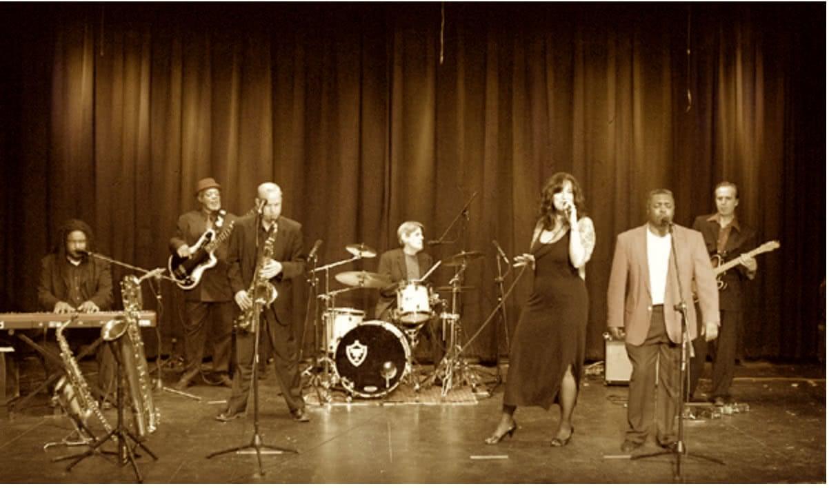 Jon Bates Band on Stage