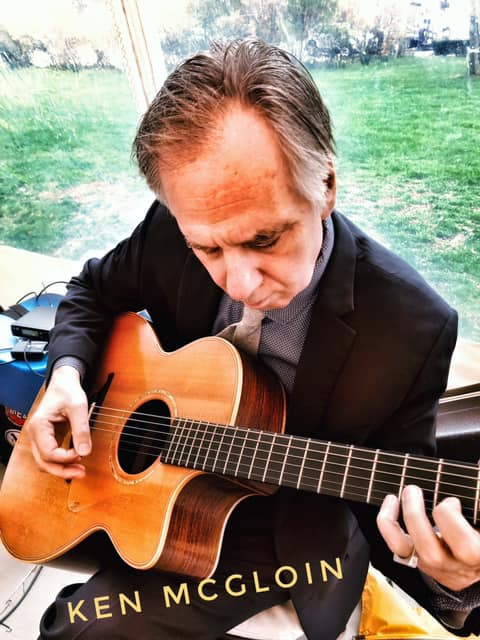 Ken McGloin lead Guitar-Martha's Vineyard Wedding