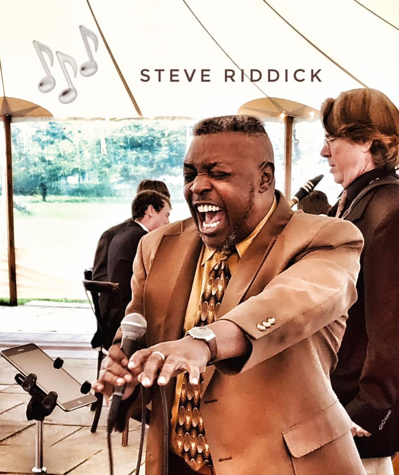 Steve Riddick of the Jon Bates Band Singing at a Martha's Vineyard Wedding
